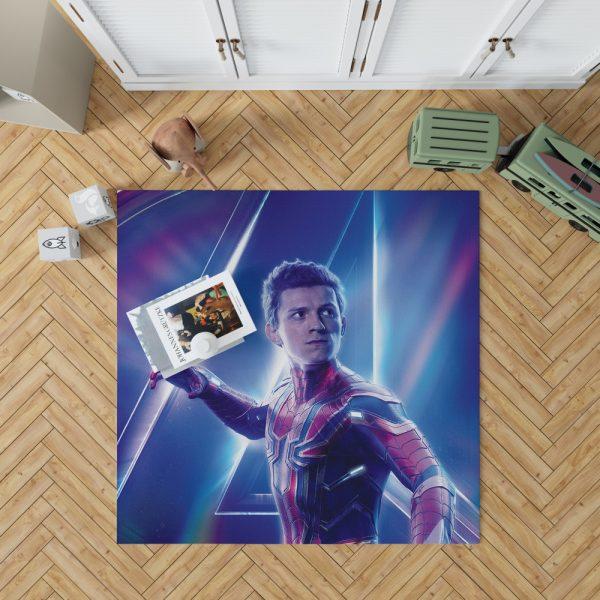 Tom Holland Peter Parker Spider Man Bedroom Living Room Floor Carpet Rug 1