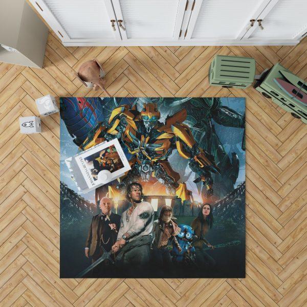 Transformers the Last Knight Bumblebee Mark Wahlberg Bedroom Living Room Floor Carpet Rug 1