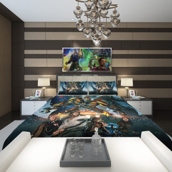 Transformers the Last Knight Bumblebee Mark Wahlberg Comforter 2