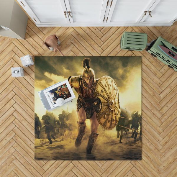 Troy Achilles Brad Pitt Adventure Bedroom Living Room Floor Carpet Rug 1