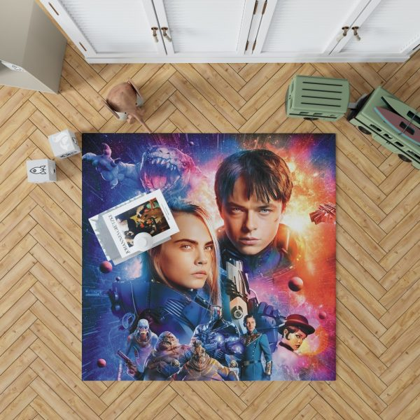 Valerian And The City Of A Thousand Planets Bedroom Living Room Floor Carpet Rug 1