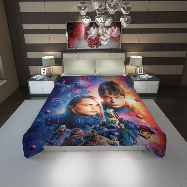 Valerian And The City Of A Thousand Planets Duvet Cover 1