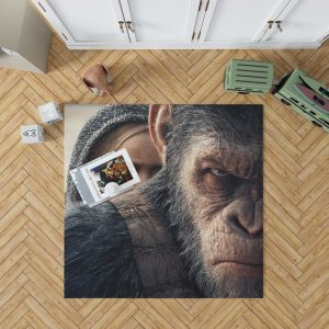 War For The Planet Of The Apes Bedroom Living Room Floor Carpet Rug 1