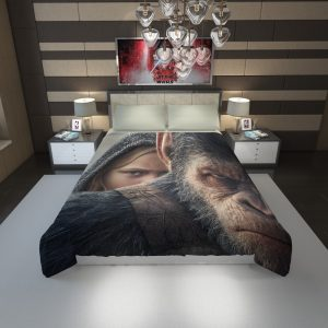 War For The Planet Of The Apes Duvet Cover 1