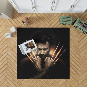 Wolwerine Hugh Jackman Bedroom Living Room Floor Carpet Rug 1