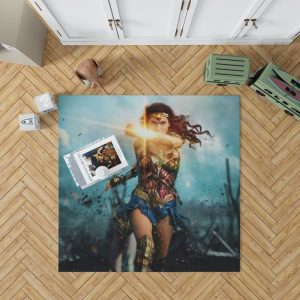 Wonder Woman Diana Prince Gal Gadot Bedroom Living Room Floor Carpet Rug 1