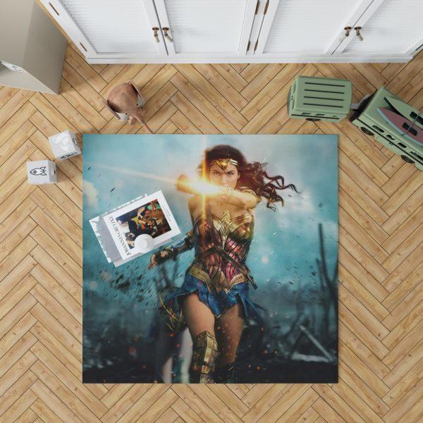 Wonder Woman Diana Prince Gal Gadot Bedroom Living Room Floor Carpet Rug 1