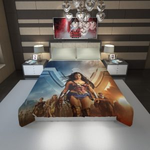 Wonder Woman Gal Gadot Duvet Cover 1