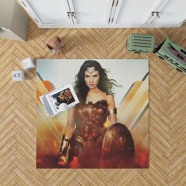 Wonder Woman Rise of the Warrior Movie Bedroom Living Room Floor Carpet Rug 1