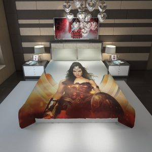 Wonder Woman Rise of the Warrior Movie Duvet Cover 1