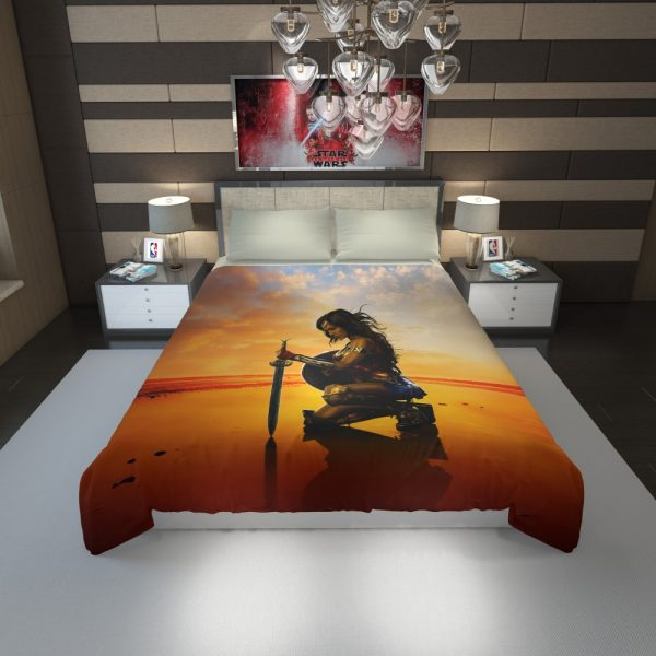 Wonder Women Gal Gadot Duvet Cover 1