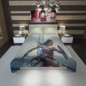 Wonder Women Girls Super Heroine Duvet Cover 1