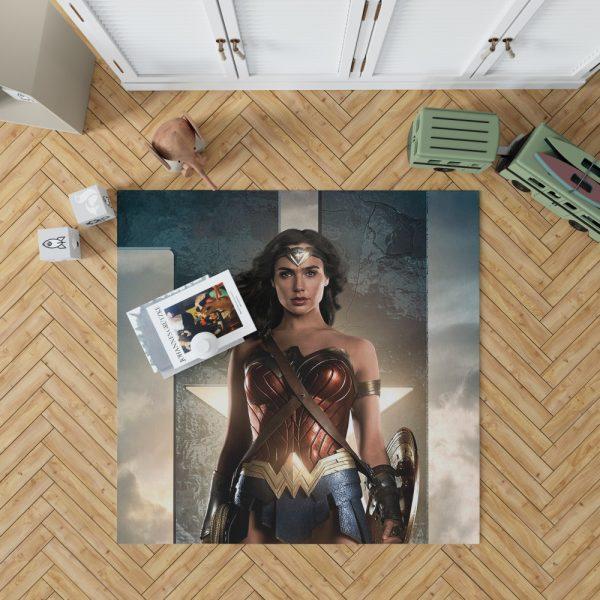 Wonder Women Justice League Bedroom Living Room Floor Carpet Rug 1