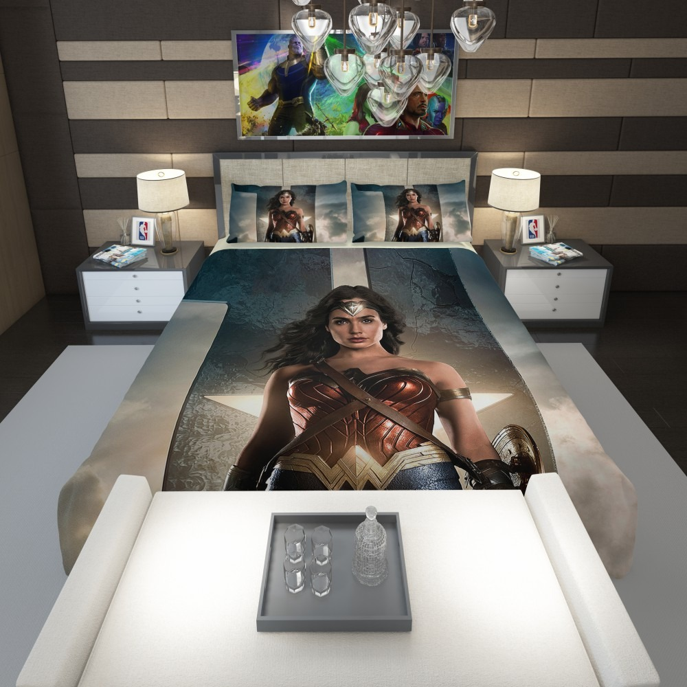 5bc111fdfd Wonder Women Justice League Comforter 1
