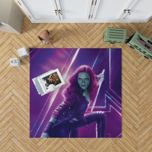 Zoe Saldana Gamora Avengers Infinity War Bedroom Living Room Floor Carpet Rug 1