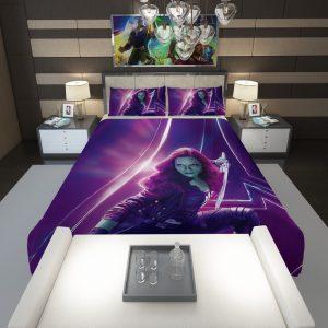 Zoe Saldana Gamora Avengers Infinity War Comforter 1