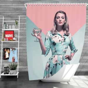 A Simple Favor Movie Blake Lively Anna Kendrick Shower Curtain