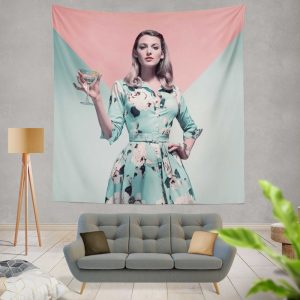 A Simple Favor Movie Blake Lively Anna Kendrick Wall Hanging Tapestry