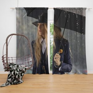 A Simple Favor Movie Blake Lively Window Curtain