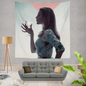 A Simple Favor Movie Martini Blake Lively Wall Hanging Tapestry