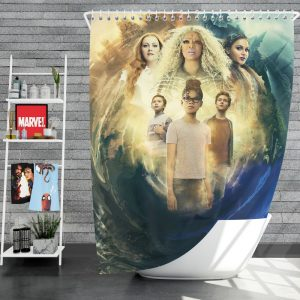 A Wrinkle in Time Movie Shower Curtain