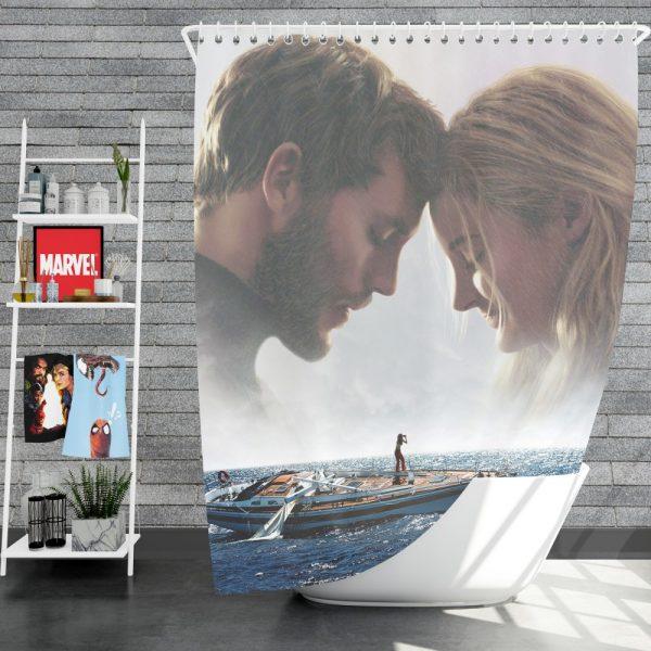 Adrift Movie Shower Curtain