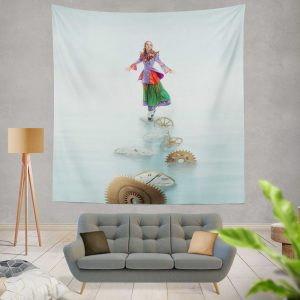 Alice Through the Looking Glass 2016 Movie Mia Wasikowska Wall Hanging Tapestry
