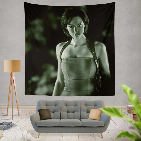 Alice in Resident Evil Apocalypse Movie Wall Hanging Tapestry