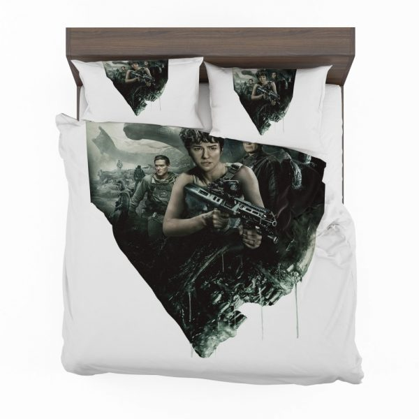 Alien Covenant Movie Katherine Waterston Michael Fassbender Xenomorph Bedding Set 2