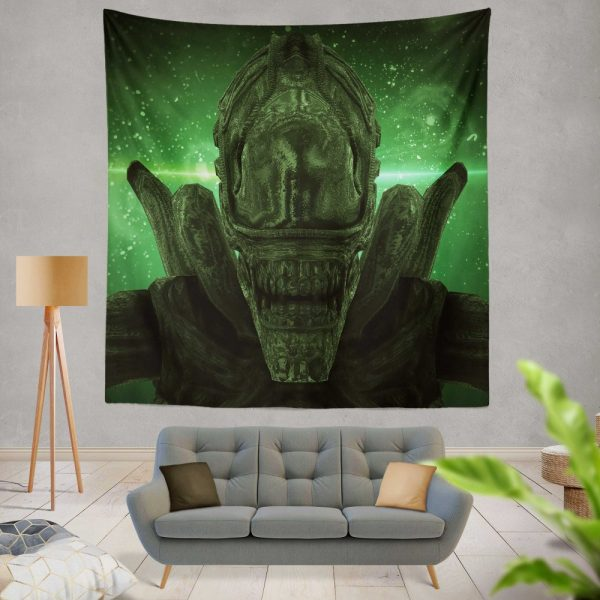 Alien Covenant Movie Xenomorph Wall Hanging Tapestry