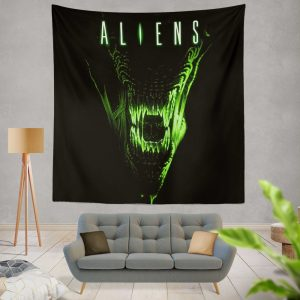 Aliens Movie Wall Hanging Tapestry