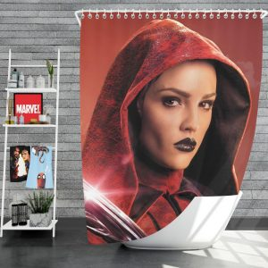 Alita Battle Angel Movie Eiza Gonzalez Shower Curtain