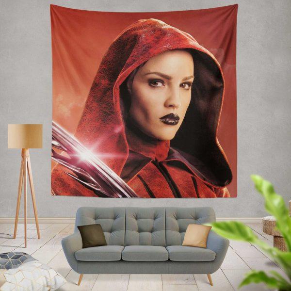 Alita Battle Angel Movie Eiza Gonzalez Wall Hanging Tapestry