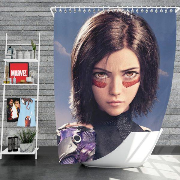Alita Battle Angel Movie Shower Curtain