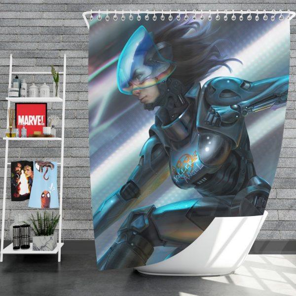 Alita Battle Angel Movie Thriller Shower Curtain