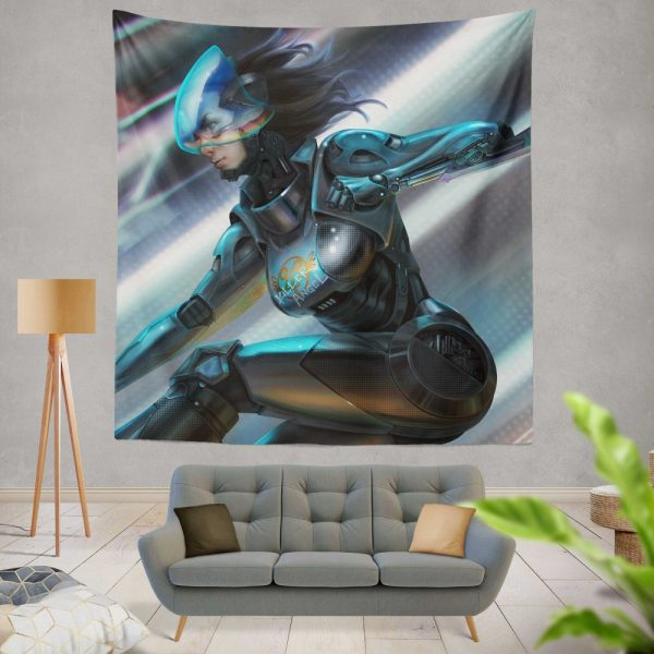 Alita Battle Angel Movie Thriller Wall Hanging Tapestry