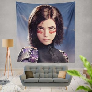 Alita Battle Angel Movie Wall Hanging Tapestry