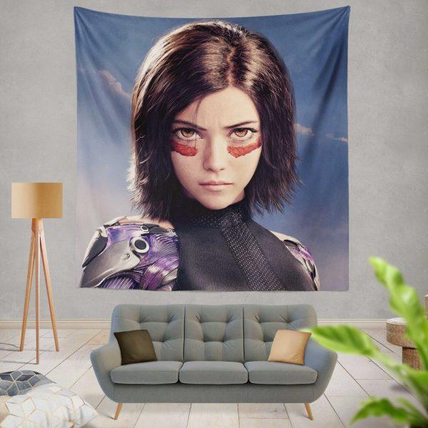 Alita Battle Angel Movie Wall Hanging Tapestry
