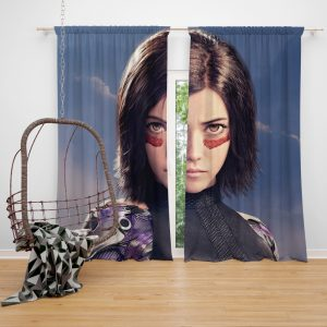 Alita Battle Angel Movie Window Curtain