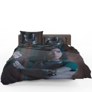 Alita Battle Angel Movie Women Warrior Bedding Set 1