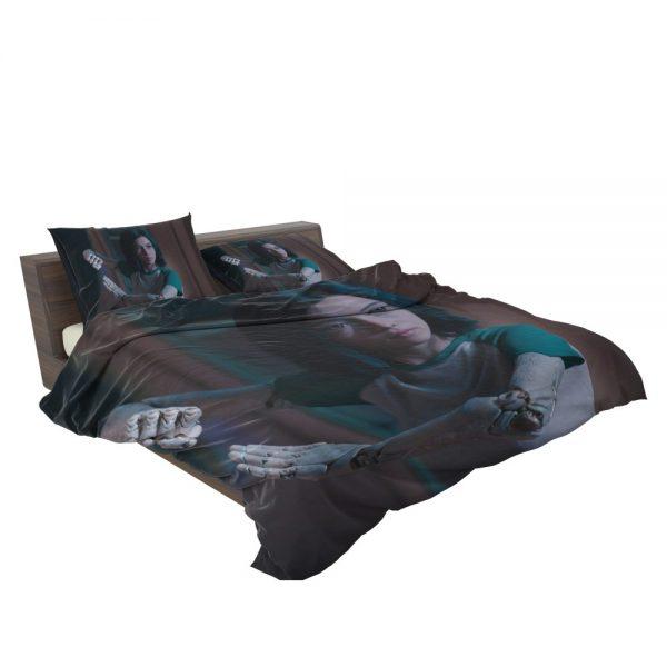 Alita Battle Angel Movie Women Warrior Bedding Set 3