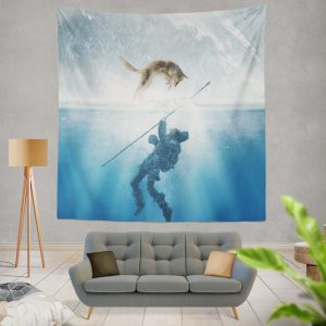 Alpha Movie Wall Hanging Tapestry
