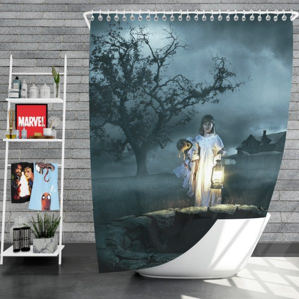 Annabelle Creation Movie Shower Curtain