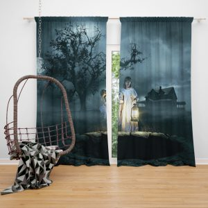 Annabelle Creation Movie Window Curtain