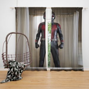Ant-Man Movie Ant-Man Paul Rudd Window Curtain