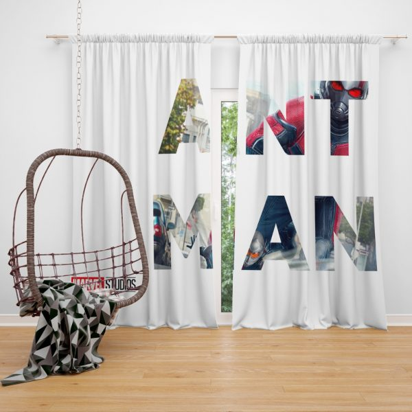 Ant-Man Movie Window Curtain