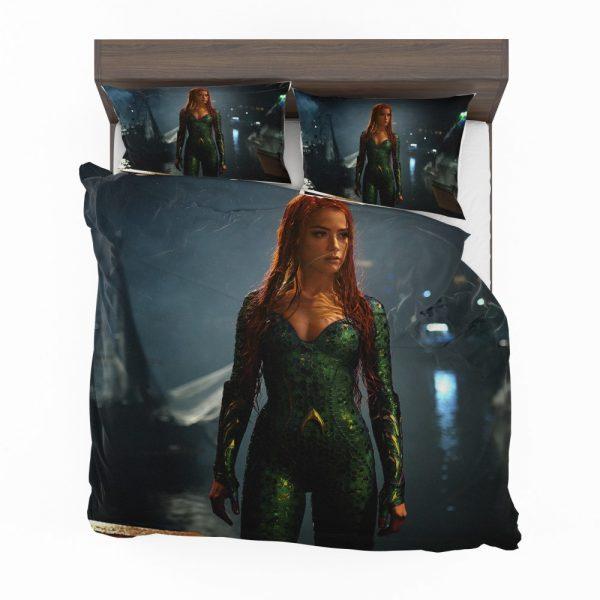 Aquaman Movie Amber Heard Mera DC Comics Bedding Set 2