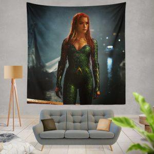Aquaman Movie Amber Heard Mera DC Comics Wall Hanging Tapestry