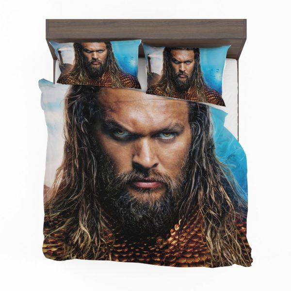 Aquaman Movie Jason Momoa Bedding Set 2