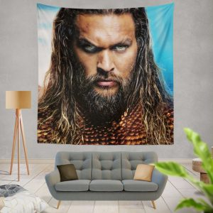 Aquaman Movie Jason Momoa Wall Hanging Tapestry